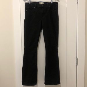 Gap black denim baby boot cut leg